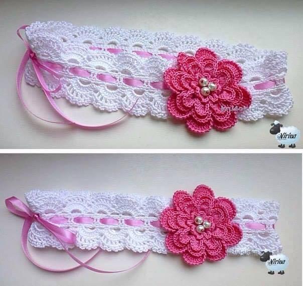 Cintillo a Crochet