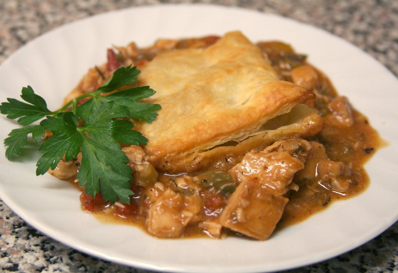 Culturally Confused: Simply Recipes: Cajun Turkey Pot Pie