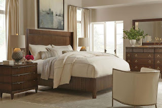 beautiful transitional bedroom