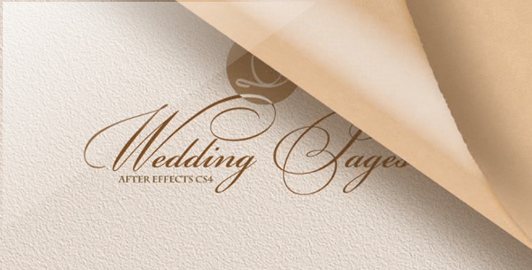 VideoHive Wedding Pages