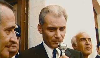 Gian Maria Volonté in a scene from The Mattei Affair