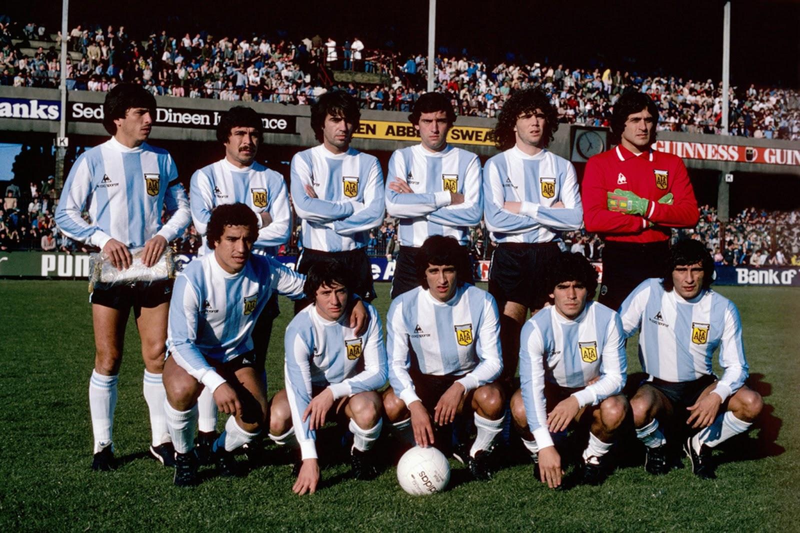 Resultado de imagem para argentina 1980