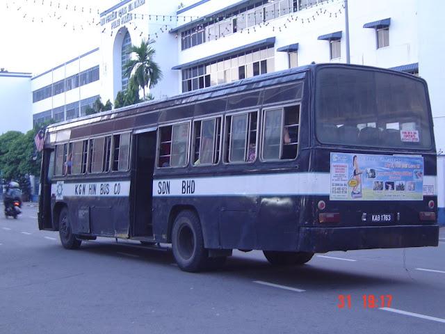sejarah bas di penang, sejarah bas di pulau pinang, kgn hin bus penang,