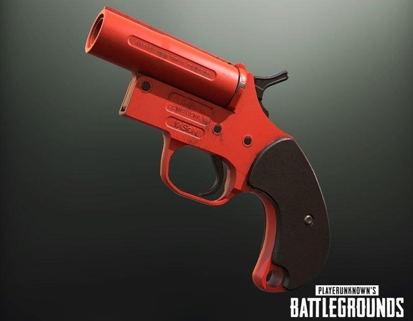 سلاح Flare Gun في لعبة ببجي – لعبة PUBG
