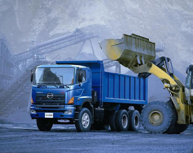 hino dump truk tronton pertambangan