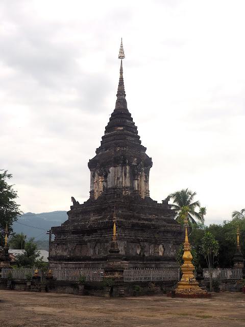 Buddhist monastery in Luang Prabang, Laos