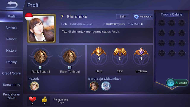 cheat mobile legend android tanpa root