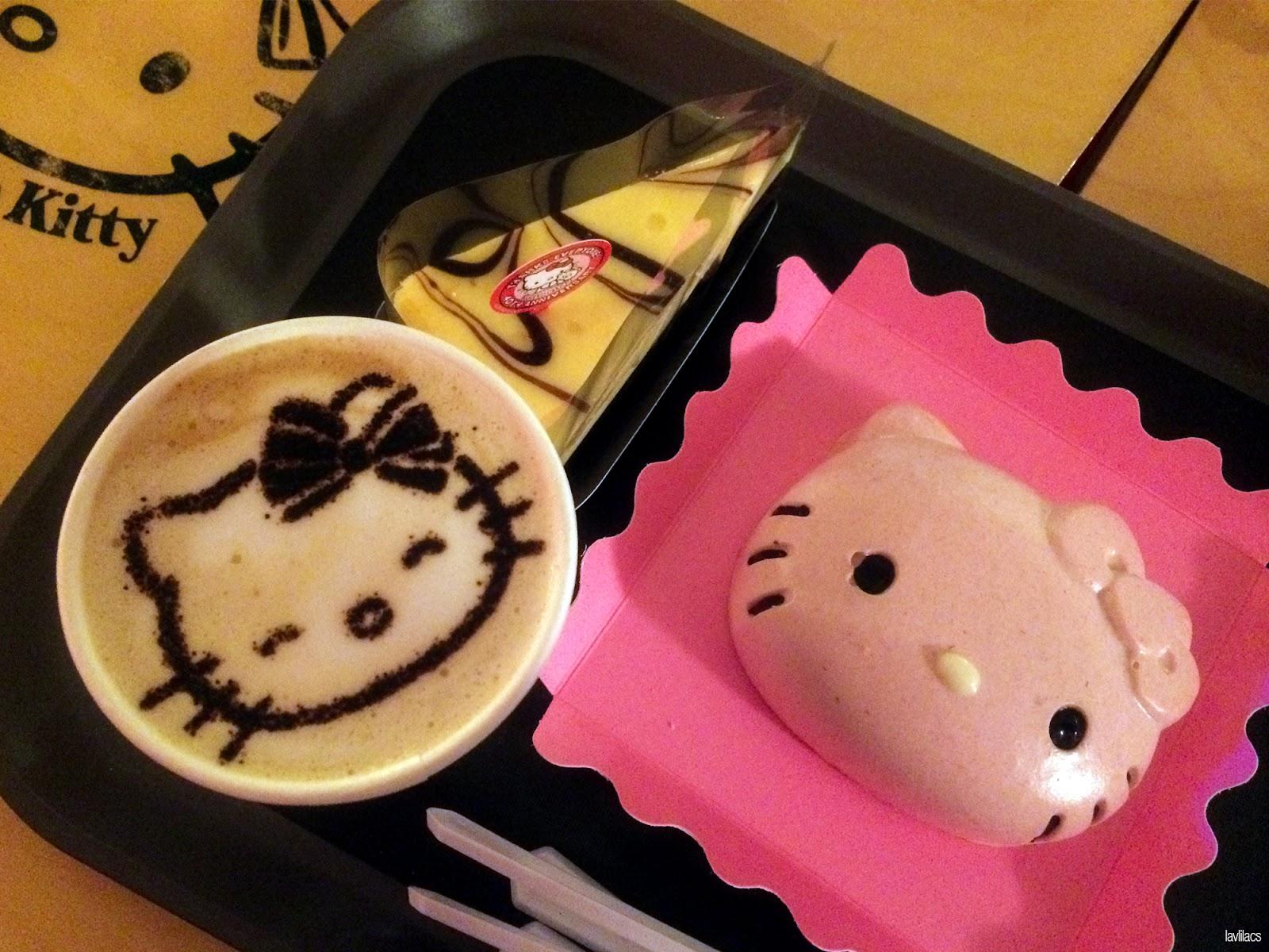 Seoul, Korea - Summer Study Abroad 2014 - Hongdae Hello Kitty Cafe food and drink