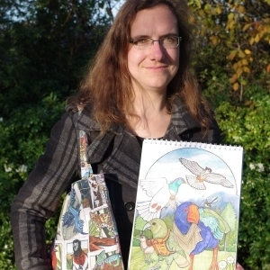 Angela Oliver, New Zealand writer and illustrator