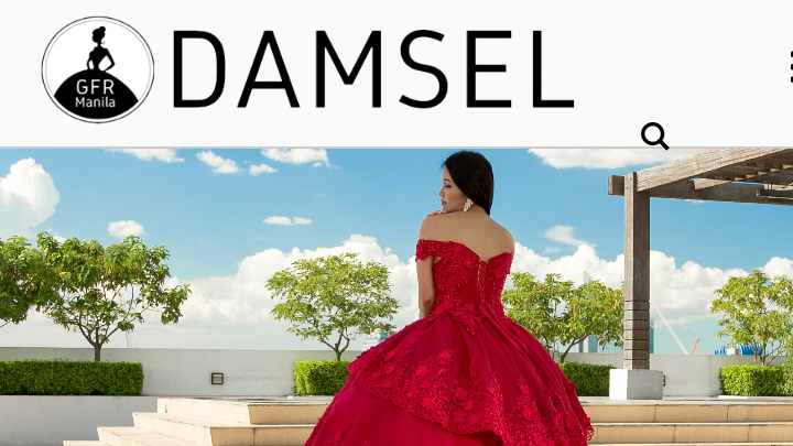 GOWNS BY DAMSEL