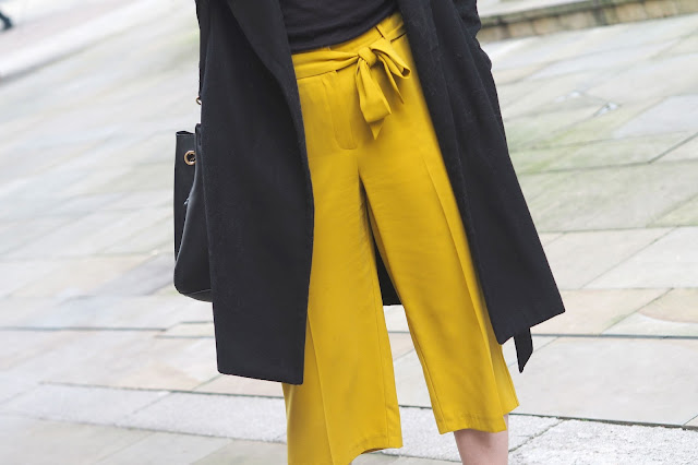 tie waist culottes 2017 fashion