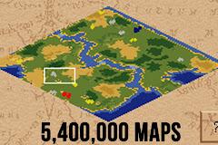 Giải mã tựa game Đế chế: Chơi cả đời không hết số lượng map có sẵn của game