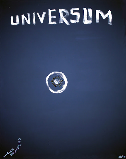 Kris Kind 2009, Universum, 120 x 100cm