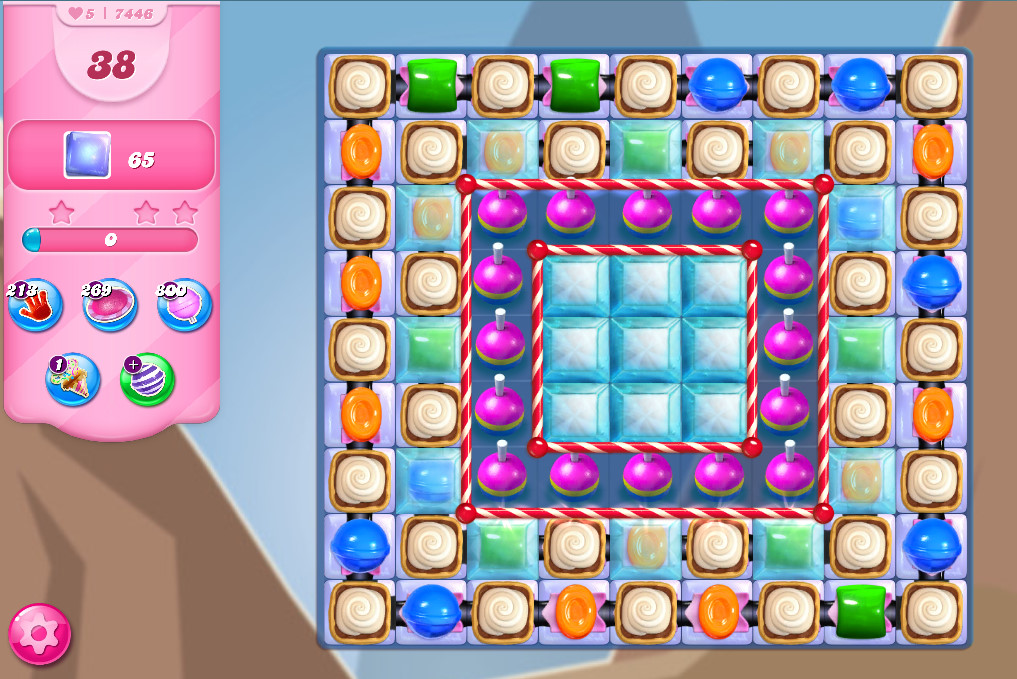 Candy Crush Saga level 7446