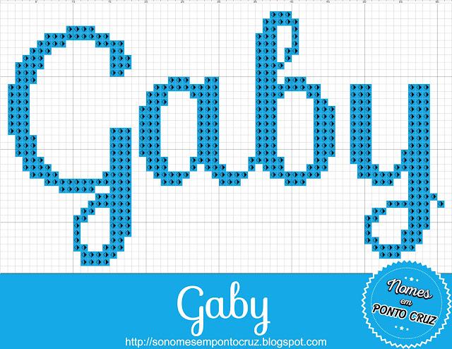 Nome Gaby em Ponto Cruz