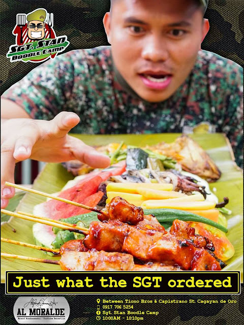 Sgt. Stan Boodle Camp Ad Campaign Poster