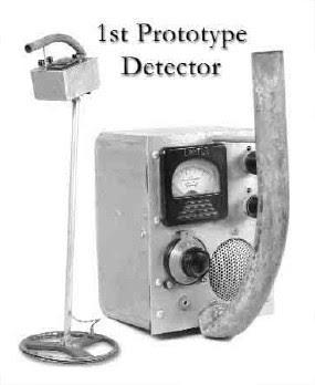 1er prototype détecteur métaux GARRETT