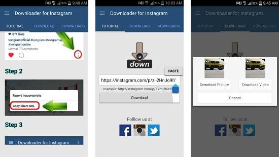 Cara Mudah Download photo video Instagram Via Android