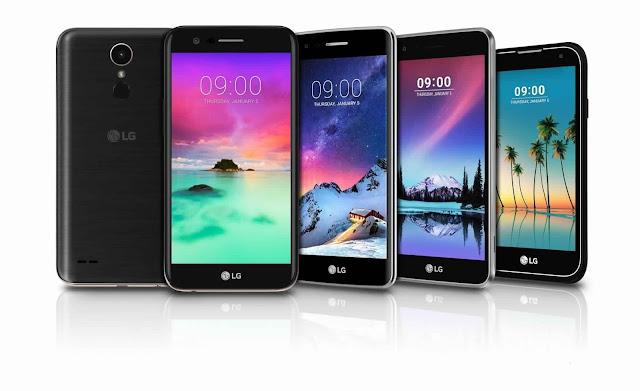 مواصفات وسعر الهاتف LG K8 2017 بالصور