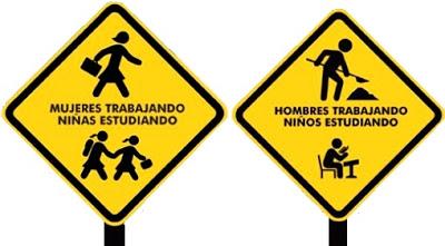 Letrero ingenioso por el Día Mundial contra el Trabajo Infantil