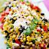 MEXICAN STREET CORN SALAD #vegetarian #mexicanfood