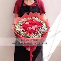 Bunga Ucapan Selamat Ulang Tahun, Hand bouquet Mawar, Bunga Ucapan Anniversary