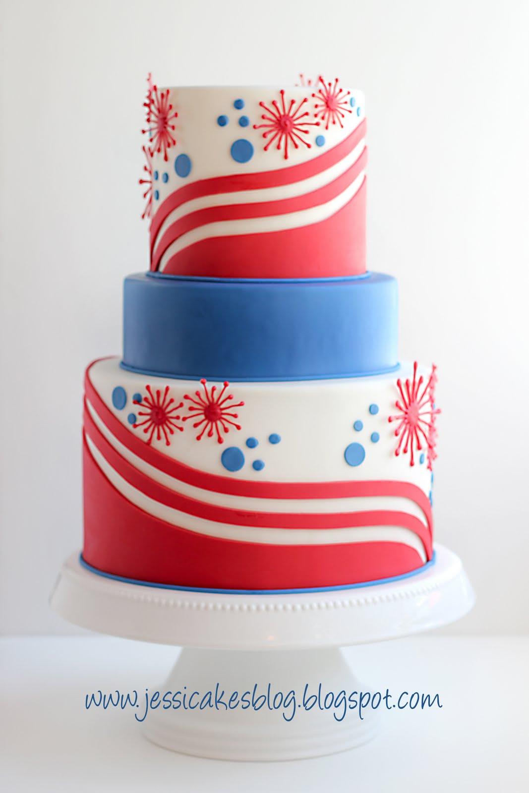 4th Of July Cake Jessica Harris Cake Design