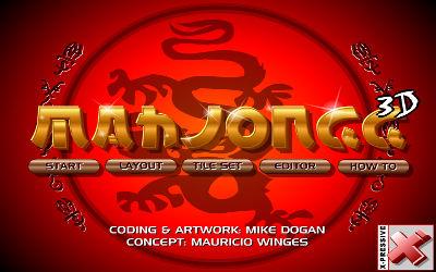 Mahjong 3D - Jeu de Puzzle / Réflexion sur PC