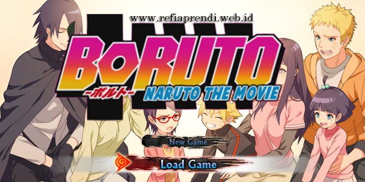 Download Game PPSSPP NSUNI MOD BORUTO