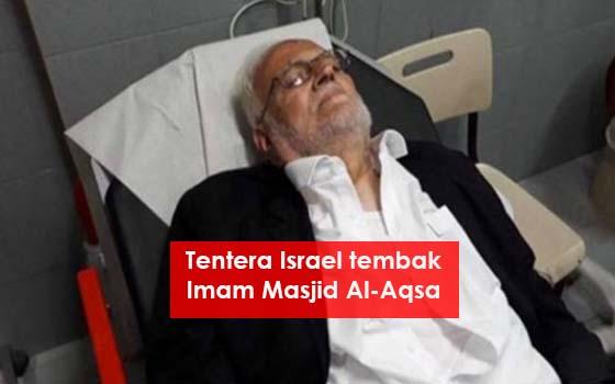 IMAM BESAR MASJID AL-AQSA DITEMBAK REJIM ZIONIS