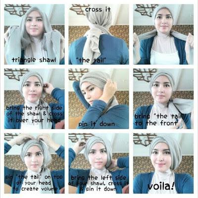 5 Tutorial Hijab Kebaya Untuk Nikahan Simple Terbaru 2018