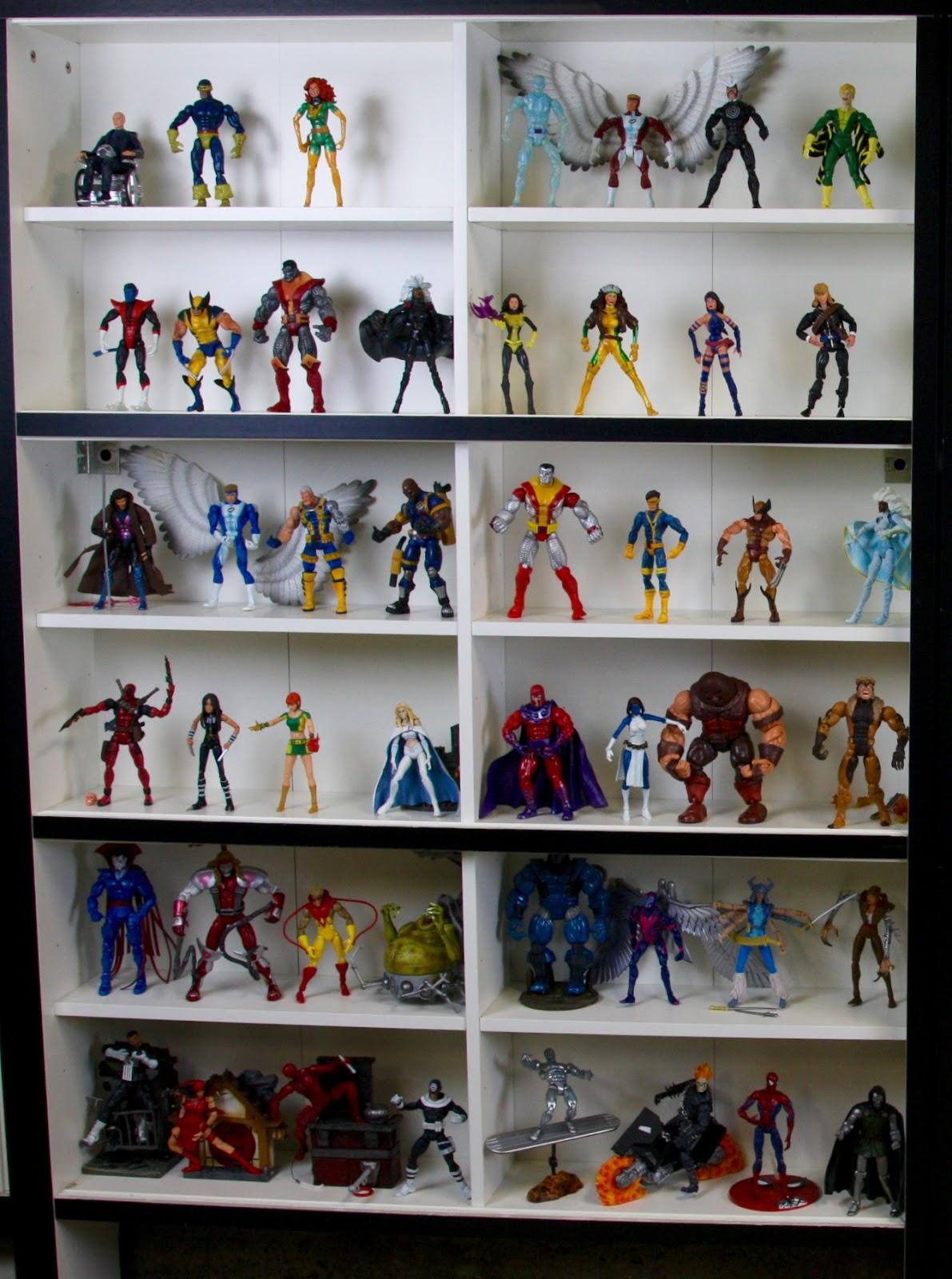 Geek Diy Bam Marvel Legends Action Figures Display Case Diy