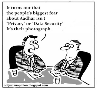 aadhar is a threat to privacy and data security.