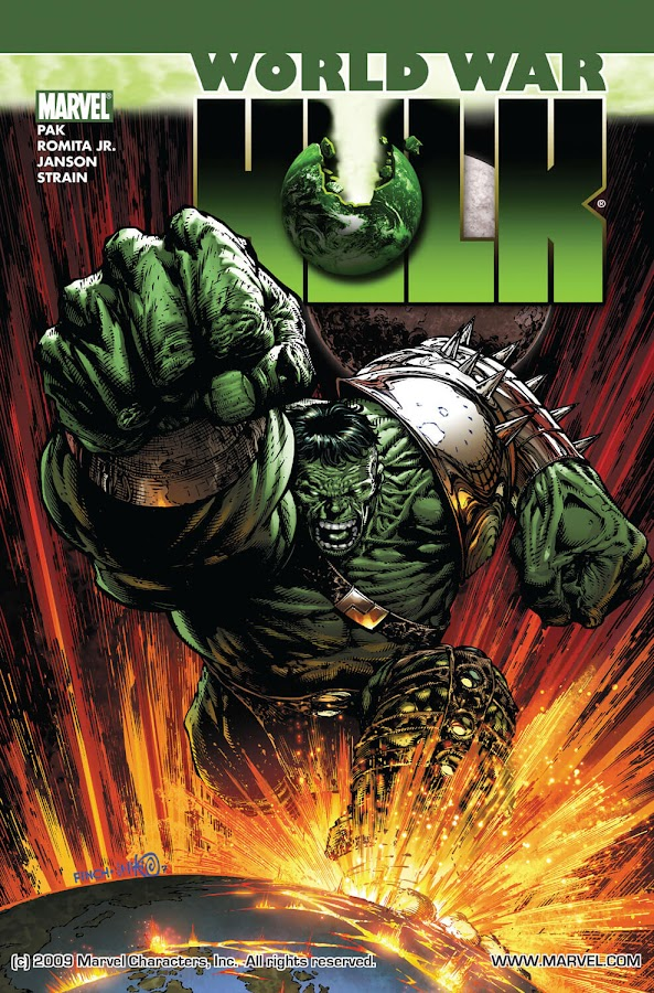 world war hulk marvel