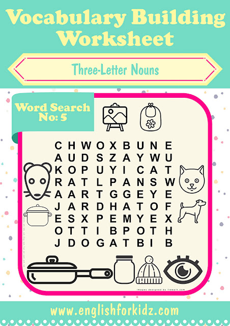 Printable work search worksheets for school