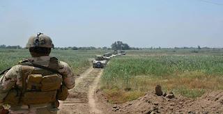 الأنبار :القوات العراقية تجري الأن عمليات تفتيش واسعة جنوب قاعدة الأسد وكبيسة غرب المحافظة