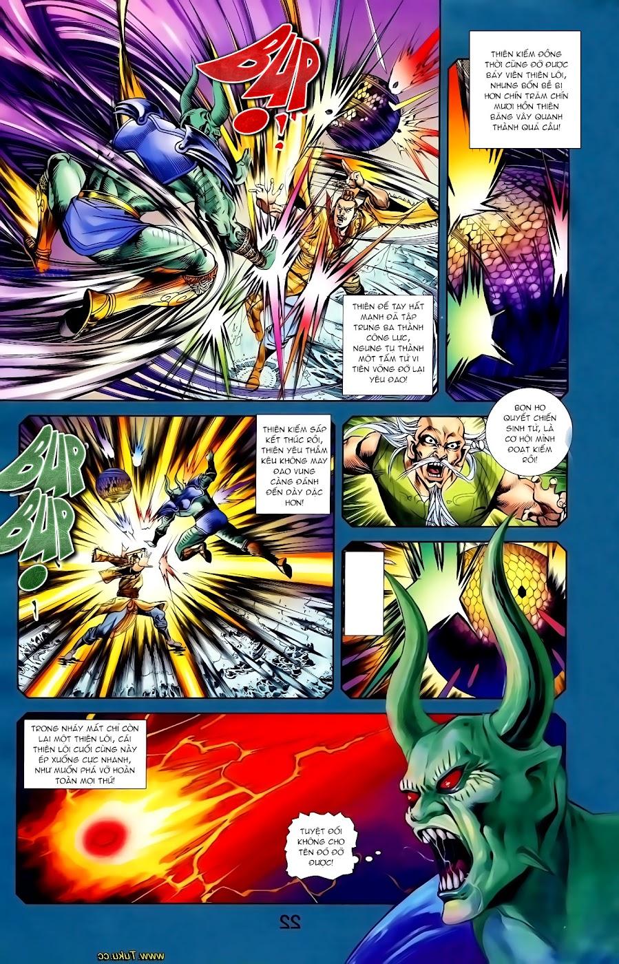 Cơ Phát Khai Chu Bản chapter 116 trang 9