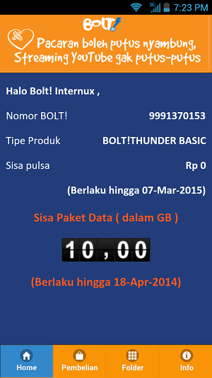 Cara Cek Kuota Bolt Terbaru 2016 Metro Tronik Distributor Pulsa