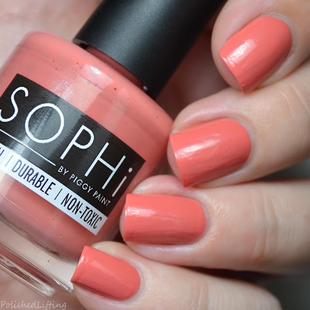 dusty pink creme nail polish