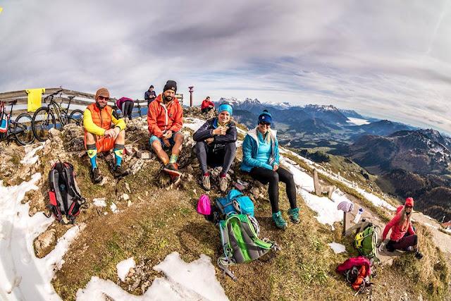 Die schönsten Berge der Kitzbühler Alpen mit dem Mountainbike