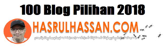 100 BLOG PILIHAN 2018 HASRULHASSAN.COM