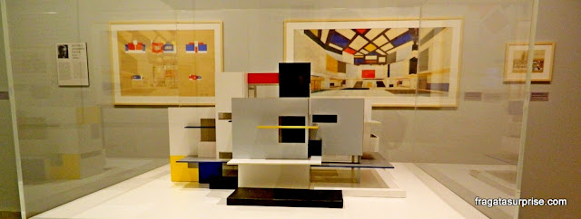Obras que mostram a influência de Mondrian na arquitetura