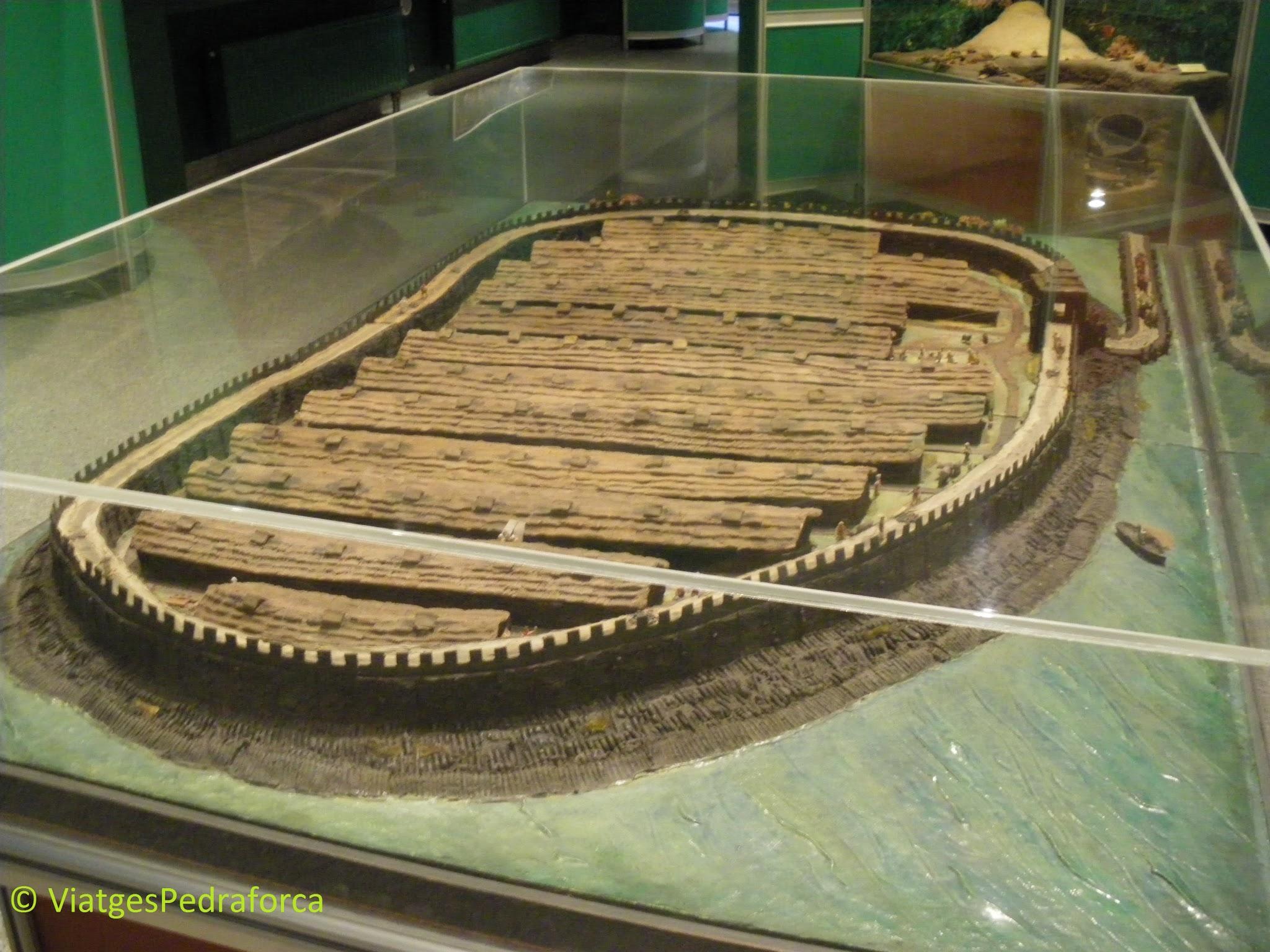 La Pompeia de Polònia, arqueologia, Lausacià