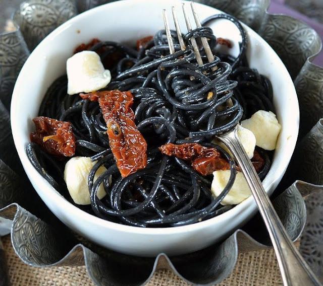 Spaghetti Hitam