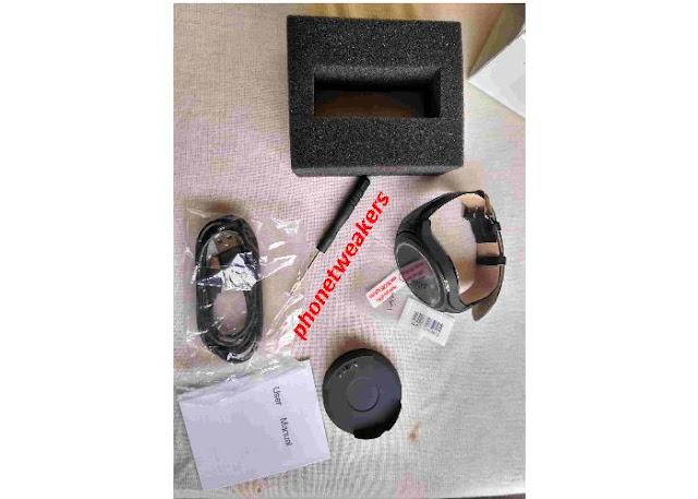 No.1 D5+ Smartwatch package