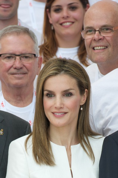Queen Letizia attended the ceremony of the 150th Red Cross anniversary in Spain