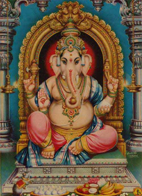 Symbolism of Various Objects Held by Ganesh