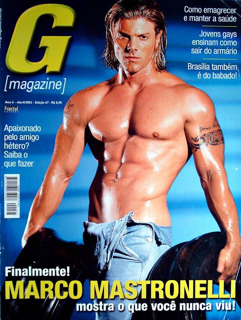 Marco Mastronelli na G Magazine