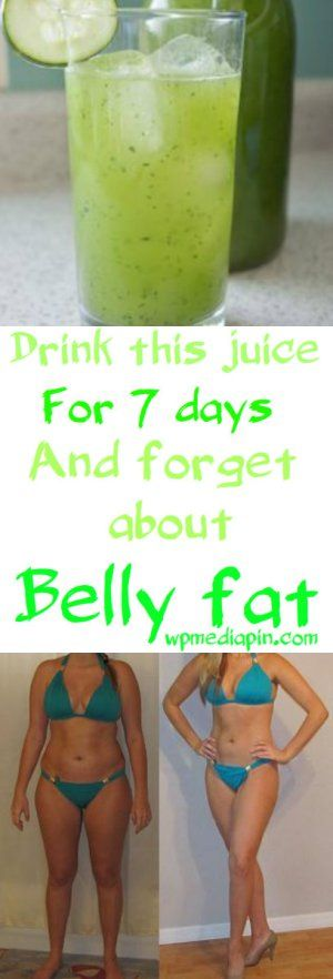 Drink This Juice For 7 Days And Forget About Belly Fat