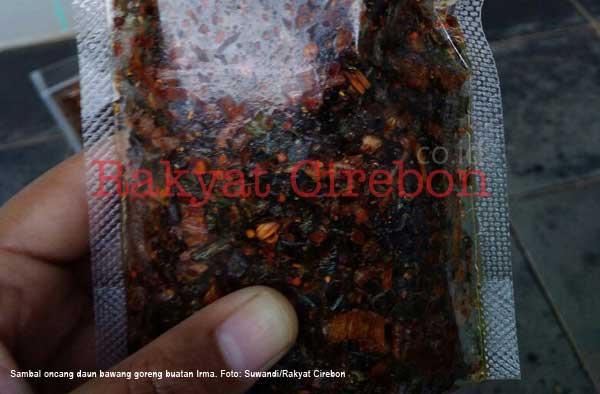 sambal oncang asal kuningan mampu tembus pasar online